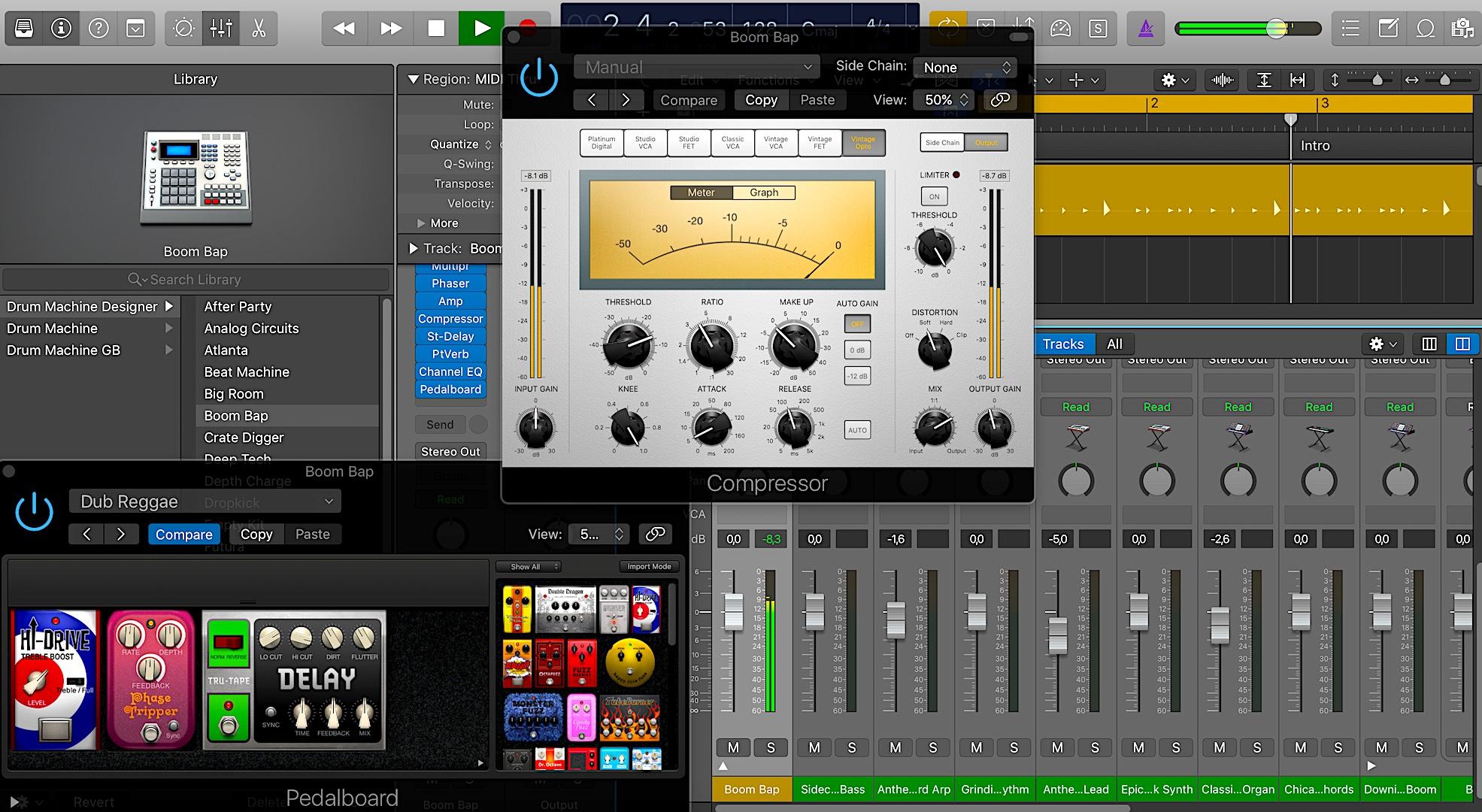 logic pro, home recording