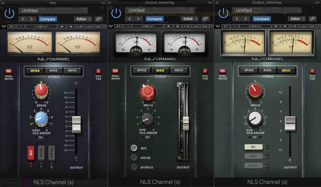 NLS Channel - loudness